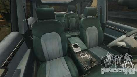 Audi Q7 Hungarian Police [ELS] для GTA 4