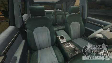 Audi Q7 Hungarian Police [ELS] для GTA 4 вид сбоку