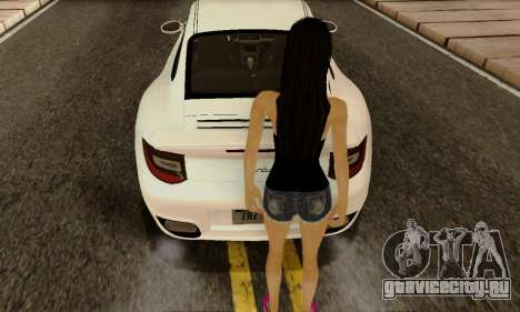 Jack Daniels Girl Skin для GTA San Andreas третий скриншот