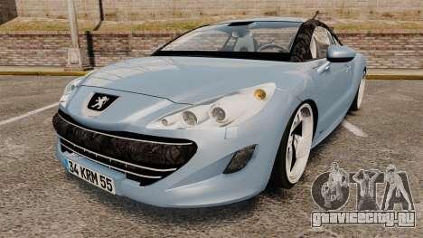 Peugeot RCZ для GTA 4