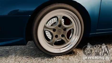 Porsche Carrera RS 1995 для GTA 4 вид сзади
