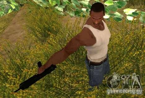 MP7 для GTA San Andreas третий скриншот