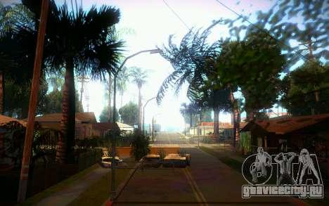 New Grove Street для GTA San Andreas шестой скриншот
