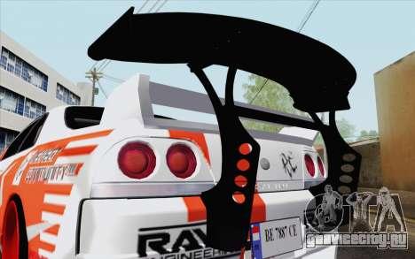 Nissan Skyline GT-R32 для GTA San Andreas вид справа