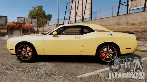 Dodge Challenger SRT8 2009 [EPM] APB Reloaded для GTA 4 вид слева