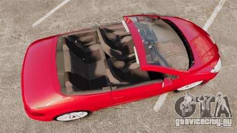 Peugeot 308 CC для GTA 4 вид справа