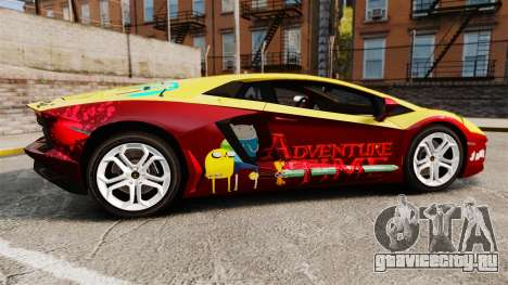 Lamborghini Aventador LP700-4 2012 [EPM] Jake для GTA 4 вид слева