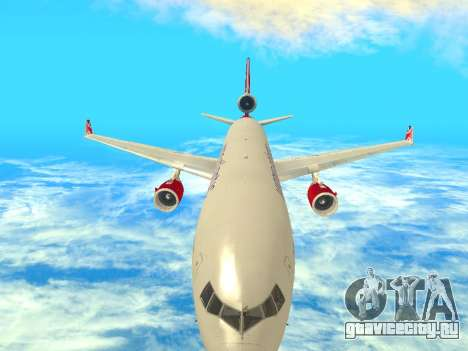 McDonnell Douglas MD-11 для GTA San Andreas вид изнутри
