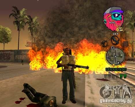 C-HUD Lion для GTA San Andreas третий скриншот