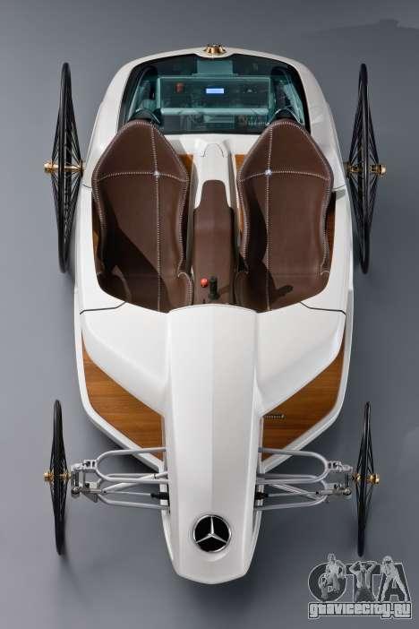 Загрузочные экраны Mercedes-Benz F-CELL Roadster для GTA 4 восьмой скриншот