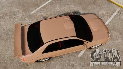 Subaru Impreza WRX STI 2004 для GTA 4 вид справа