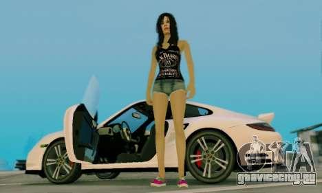 Jack Daniels Girl Skin для GTA San Andreas шестой скриншот