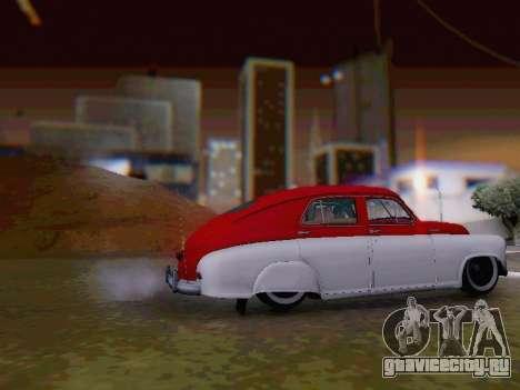 ГАЗ М-20 Победа для GTA San Andreas вид слева