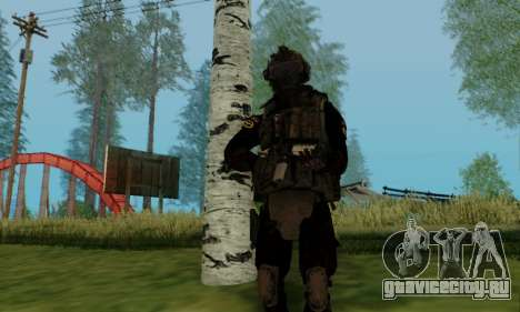 Kopassus Skin 2 для GTA San Andreas шестой скриншот