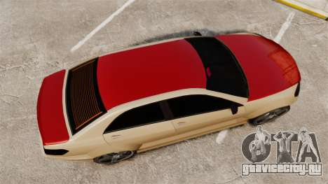 Benefactor Schafter Gen2 AMG для GTA 4