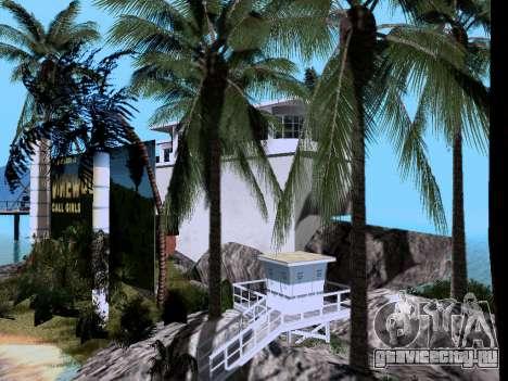 Новый остров V2.0 для GTA San Andreas седьмой скриншот