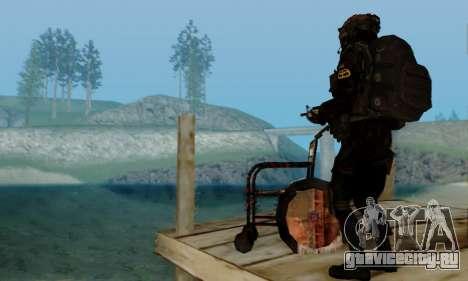 Kopassus Skin 2 для GTA San Andreas восьмой скриншот