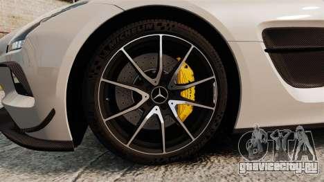 Mercedes-Benz SLS 2014 AMG Driving Academy v1.0 для GTA 4 вид сзади
