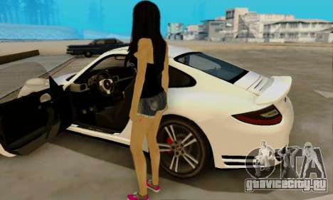 Jack Daniels Girl Skin для GTA San Andreas четвёртый скриншот