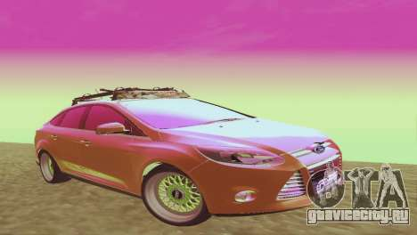 Ford Focus Sedan Hellaflush для GTA San Andreas