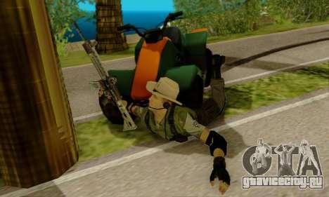 Resident Evil Apocalypse S.T.A.R.S. Sniper Skin для GTA San Andreas третий скриншот