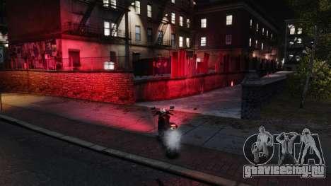 Красный свет фар для GTA 4 второй скриншот