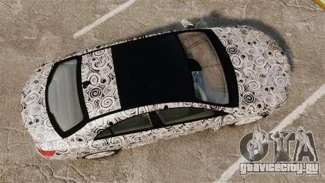 Mercedes-Benz CLA 250 2014 AMG Prototype для GTA 4 вид справа