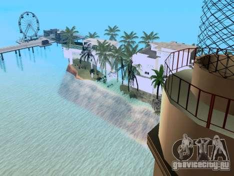 Новый остров V2.0 для GTA San Andreas пятый скриншот