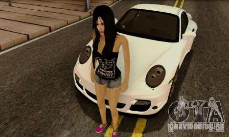 Jack Daniels Girl Skin для GTA San Andreas второй скриншот