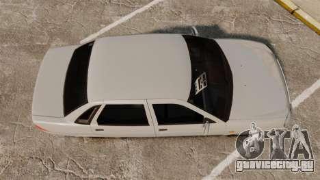 ВАЗ-2170 Lada Priora v2.0 для GTA 4 вид справа