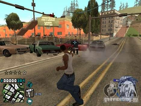 C-HUD Rifa in Ghetto для GTA San Andreas третий скриншот