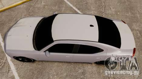 Dodge Charger SRT8 2007 для GTA 4 вид справа