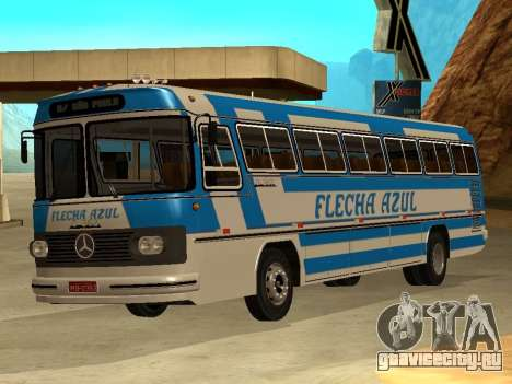 Mercedes Benz Mb O362 для GTA San Andreas вид слева