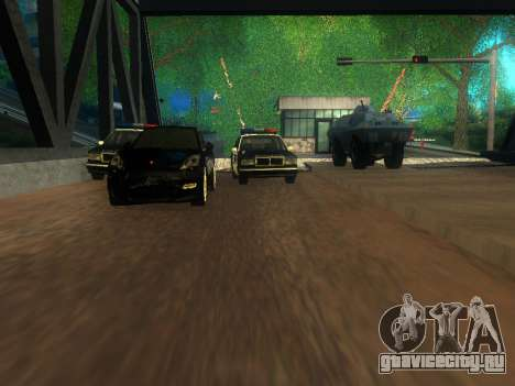 Таможня Los Santos-San Fierro для GTA San Andreas пятый скриншот