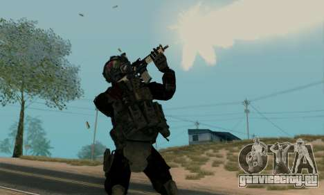 Kopassus Skin 2 для GTA San Andreas второй скриншот