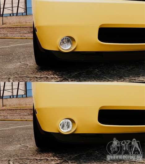 Dodge Challenger SRT8 2009 [EPM] APB Reloaded для GTA 4 вид снизу