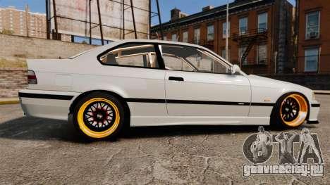 BMW M3 E36 для GTA 4 вид слева