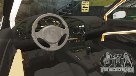 BMW M3 E36 для GTA 4 вид сзади