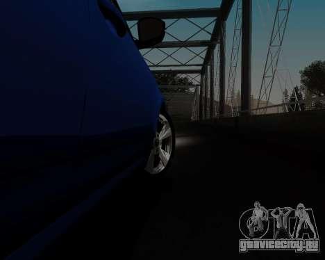 Skoda Octavia A7 для GTA San Andreas вид сверху