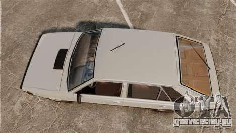 FSO Polonez 1500 для GTA 4 вид справа