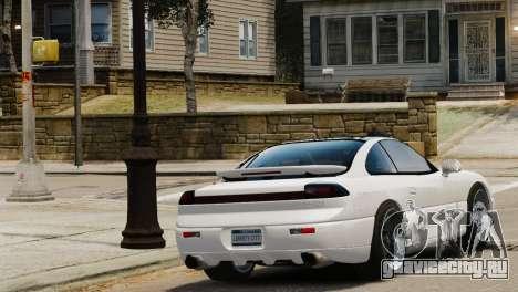 Dodge Stealth Turbo RT 1996 для GTA 4 вид слева