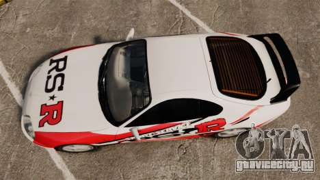 Toyota Supra MKIV 1995 RS-R для GTA 4 вид справа