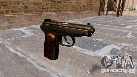 Пистолет Макарова для GTA 4