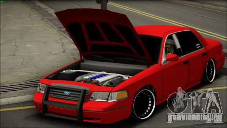 Ford Crown Victoria для GTA San Andreas вид справа