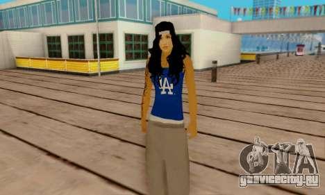 Ophelia v2 для GTA San Andreas четвёртый скриншот
