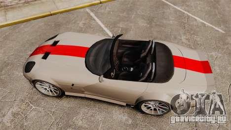 Bravado Banshee new wheels для GTA 4 вид справа
