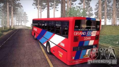 Grand Courier 5588 для GTA San Andreas вид слева