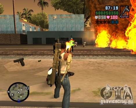C-HUD Vice Sity для GTA San Andreas второй скриншот