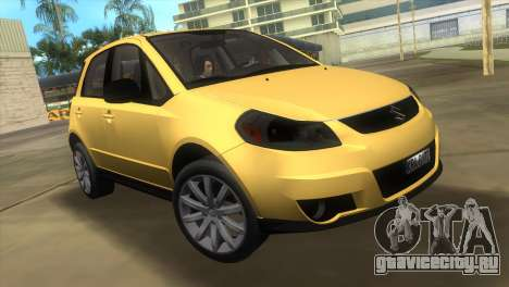 Suzuki SX4 Sportback для GTA Vice City