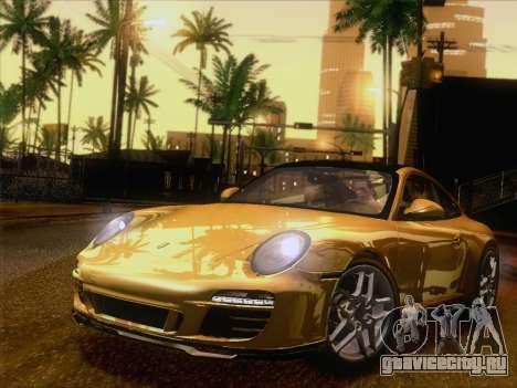 Porsche 911 Targa 4S для GTA San Andreas вид слева
